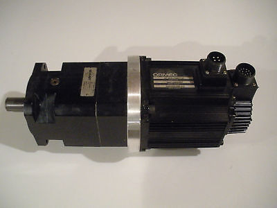 Ormec Mac-db080ni Servo Motor With Neugart Pl115 Inline Gear Reduction 201