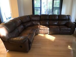 Large L couch