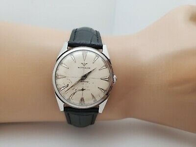 Vintage LONGINES WITTNAUER 11AN Automatic Men's swiss watch 1960s