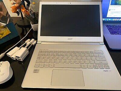 Acer Aspire S3-391-9492 13.3in Intel (R) Core (TM) i7-3537U Cpu@2.00GHz 2.50 GHz