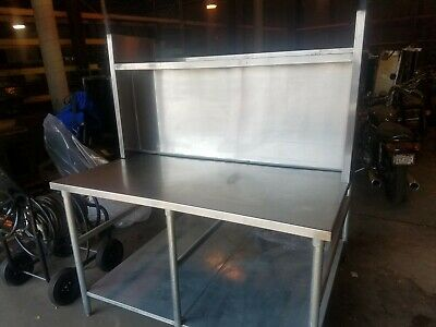 Commercial Stainless Pizza Cut-n-pack Work Table 50 X 60