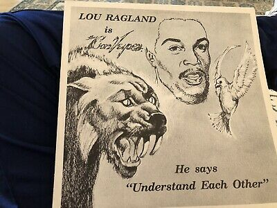 - Lou Ragland is the Conveyor- Understand Each Other LP