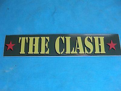 The Clash Army Logo 7.75 Inch Sticker