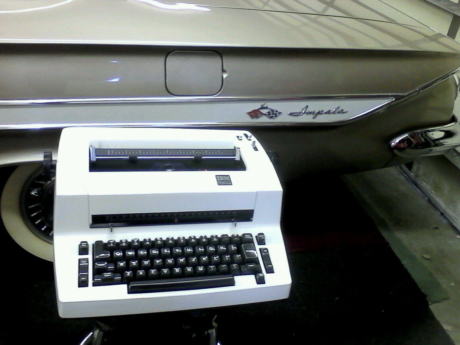 Electric typewriter service and repair
