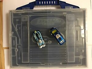 Carry case for hotwheels cars with two hot wheels Curtin Woden Valley Preview