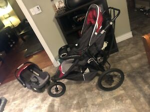 Eddie Bauer 01184CTAG TrailGuide Jogger Travel System - Tango Re