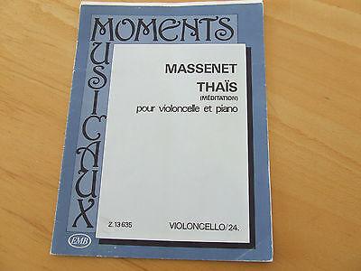 Massenet Thais (Meditation) pour Violoncello et Piano  Moments Musicaux