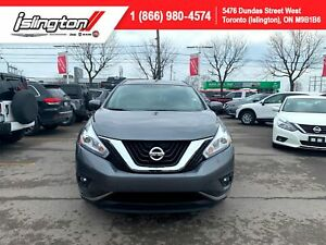 2017 Nissan Murano SV TECH |CERTIFIED|NAVIGATION|PANO ROOF|+++