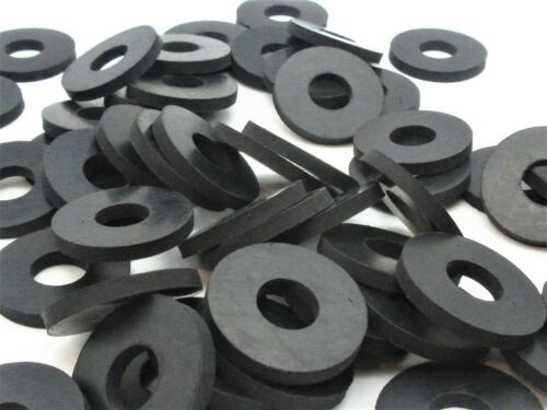 """3/8"""" ID x 1"""" OD  x 1/8"""" Thick Premium Rubber Washers Various Pack Sizes"""