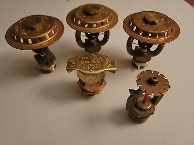 Fire Sprinkler Lot Unique Deflectors Qr Upright Pendent Brass Huge Ecoh Elo 17