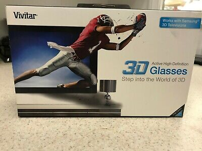 Vivitar Active High-Definition 3D glasses for Samsung 3D televisions