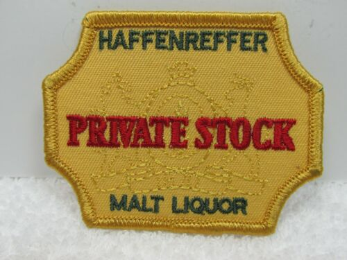 Haffenreffer Private Stock Beer Patch