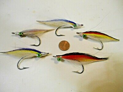 Gnat 10 Pack Critter Spider Rigging Fly Crappie Fly Hand Tied Teaser