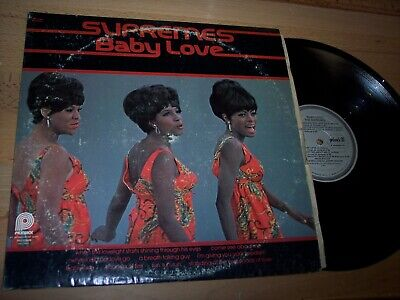 VG+ 1974 Diana Ross The Supremes Baby Love LP Album