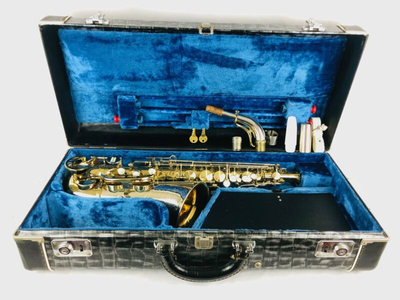 King Super 20 Silver Sonic Cleveland Alto Saxophone TIME CAPSULE HOLY GRAIL