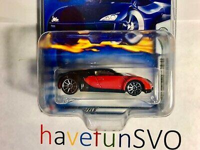 Bugatti Veyron First Edition HOT WHEELS HW 2003 Red & Black - 56392