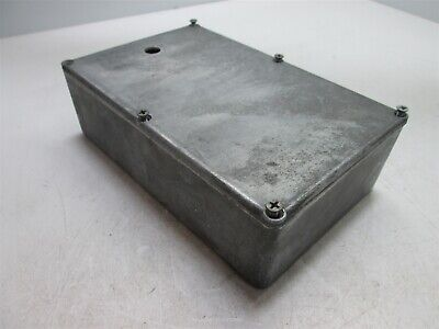Bud Cu-247 Project Box Dimensions 7.25 X 4.5 X 2 Holes - See Pictures