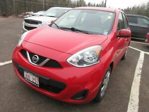 2017 Nissan MICRA S- CRUISE! A/C! KEYLESS ENTRY!