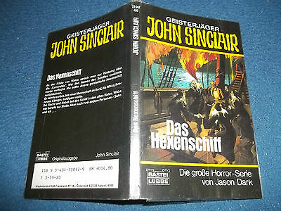 JOHN SINCLAIR***TASCHENBUCH NR.42 + AUTOGRAMM