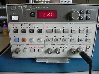 Agilent-hp 3314a Function Generatorawg Excellent Condition-warranty