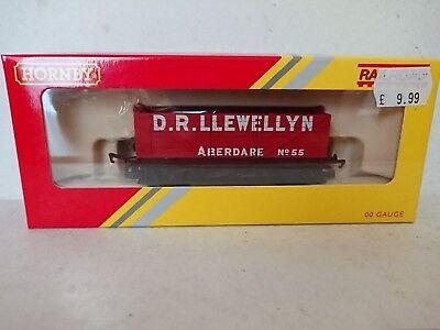 Hornby Railroad R6721 LWB Open Wagon D.R. LLEWELLYN Aberdare No.55 NEW