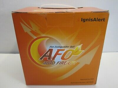 Afo Fire Extinguisher Ball Self Activation Auto Fire Off Device Brand New