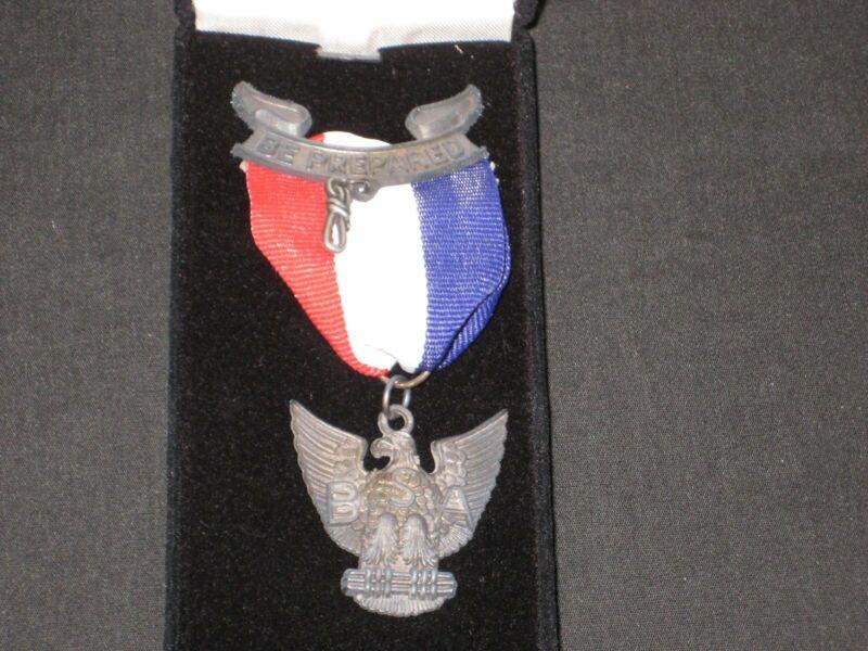 Eagle Scout Award Medal CFJ 3 sterling