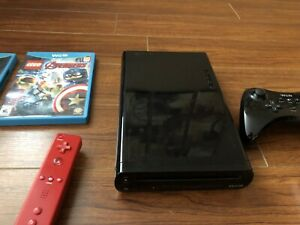 Wii U, game pad, controllers and games for sale