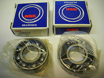Nsk 6203vc3 Ball Bearings 17mm X 40mm X 12mm Set Of 2 New Condition In Box