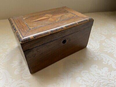 Keepsake / Games / Trinket box with marquetry and micro-moziac