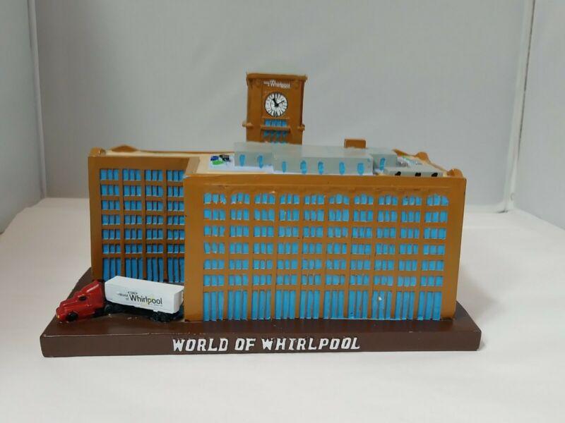 World Of Whirlpool Souvenir Replica Building Chicago Illinois Chicago River