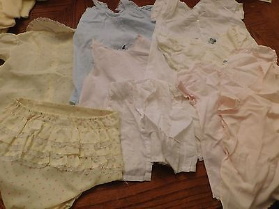 LOT MIXED VINTAGE/ OLD CLOTHES/ INFANT/BABY/DOLL make offer