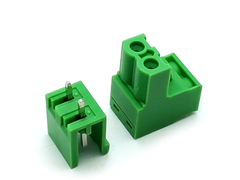 US Stock 10Set 2EDG 2 Pin 2P Plug-in Screw Terminal Block Connector 5.08mm Pitch