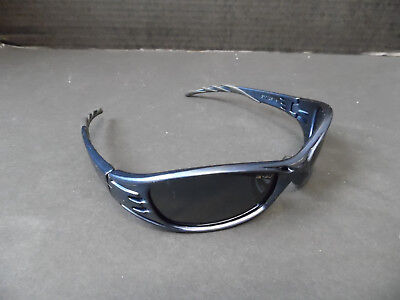 3m Fuel Safety Glasses Dark Blue With Black Tinted Lenses Sport New Z87