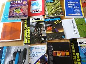 year 12 text books methods, english language, chemistry, chinese Doncaster Manningham Area Preview