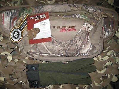 FIELDLINE PRO SERIES MONTANA  HIKING/HUNTING WAIST PACK ,free all terrain gloves