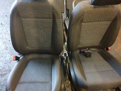 VAUXHALL MERIVA B HALF LEATHER SEATS FULL SET INTERIOR     2010 - 2017
