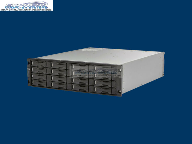 Dell Equallogic Ps5000x 16x 600gb 10k Sas 1gbe Dual Type 4 Ctrl Ps4000 Iscsi San