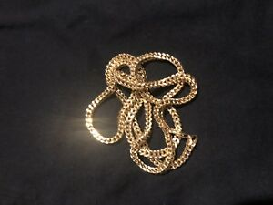 """28"""" Franco Chain 10KT 4 Sale - REAL GOLD !!"""