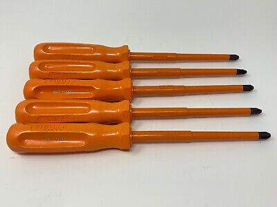 Sibille Insulated Screwdriver Lot 5 No 3 6 Phillips
