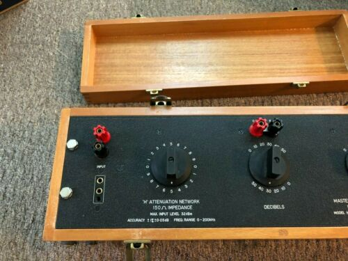 Master Instruments H150-3 rotary step attenuation