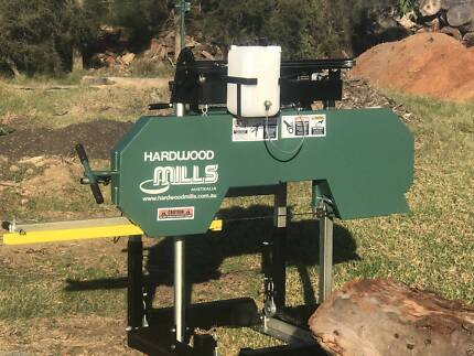 NEW HARDWOOD MILLS SAW MILL/ ELECTRIC START