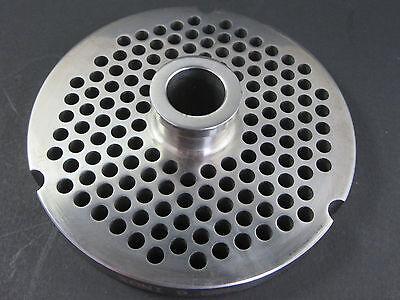52 14 6.0 Mm Holes Stainless Meat Grinder Disc Plate For Hobart Biro Berkel