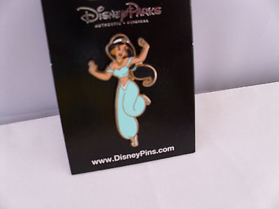 Disney * PRINCESS JASMINE * Dancing -Turquoise Outfit * New On Card Retired - Jasmine Outfits Disney