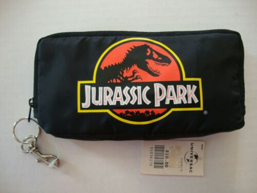 Jurassic Park String Sack Zipper Pouch With Tag Back Pack Unused NWT New