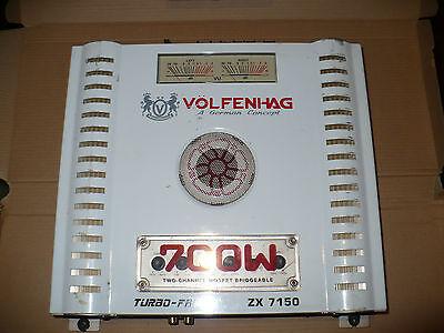 Volfenhag ZX-7150 2-Channel Car Amp 700Watt Mosfet Bridgeable