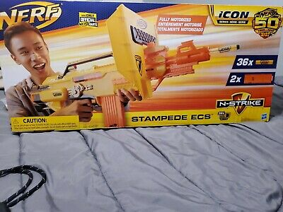 NERF Icon N-Strike Stampede ECS New Box Damage Free Shipping