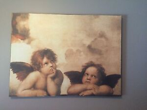 Cherub Angels Canvas 24in x 32in West Island Greater Montréal image 1