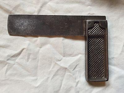 "Stanley 4"" Iron Try Square Circa 1912-1918"