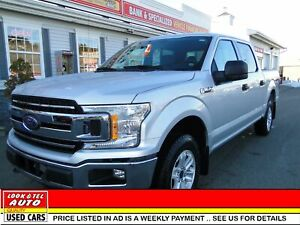 2018 Ford F-150 XLT you're approved $129.92 a week tax inc. XLT,
